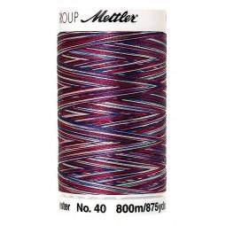 Fil à coudre Mettler Polysheen multicolori bobine 800 m col. 9918