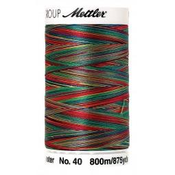 Fil à coudre Mettler Polysheen multicolori bobine 800 m col. 9937