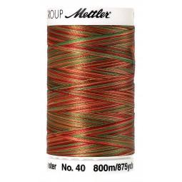 Fil à coudre Mettler Polysheen multicolori bobine 800 m col. 9939