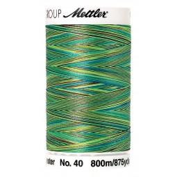 Fil à coudre Mettler Polysheen multicolori bobine 800 m col. 9971