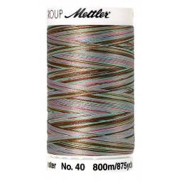 Fil à coudre Mettler Polysheen multicolori bobine 800 m col. 9972