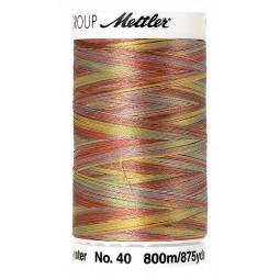 Fil à coudre Mettler Polysheen multicolori bobine 800 m col. 9974