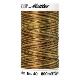 Fil à coudre Mettler Polysheen multicolori bobine 800 m col. 9975