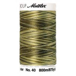 Fil à coudre Mettler Polysheen multicolori bobine 800 m col. 9976