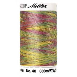Fil à coudre Mettler Polysheen multicolori bobine 800 m col. 9977