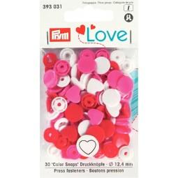 Boutons pression Prym Love Coeur ro