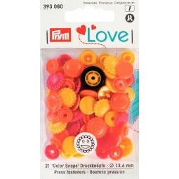 Boutons pression Prym Love Fleur ja