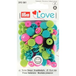Boutons pression Prym Love Fleur tu