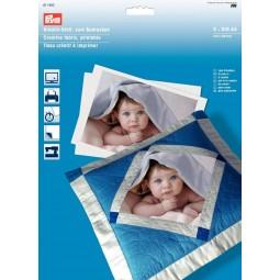 Tissu  Creatif A Imprimer 5 Feuilles PRYM Réf 611930