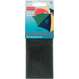 Piece  Autocollante Nylon 18 X 10 Cm Noir  PRYM Réf 929500
