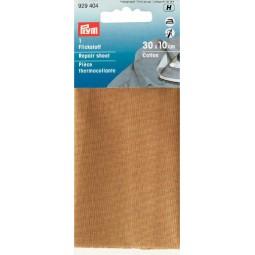 Piece  Thermocollante Coton  30 X 10 Cm Beige PRYM Réf 929404