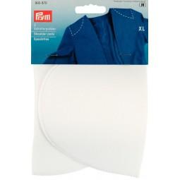 Epaulettes Demi-Lune Recouvertes Blanc Xl  PRYM Réf 993870