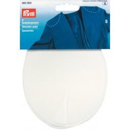 Epaulettes Recouvertes Raglan Blanc S     PRYM Réf 993880