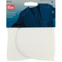 Epaulettes Demi-Lune Recouvertes Blanc S   PRYM Réf 993860