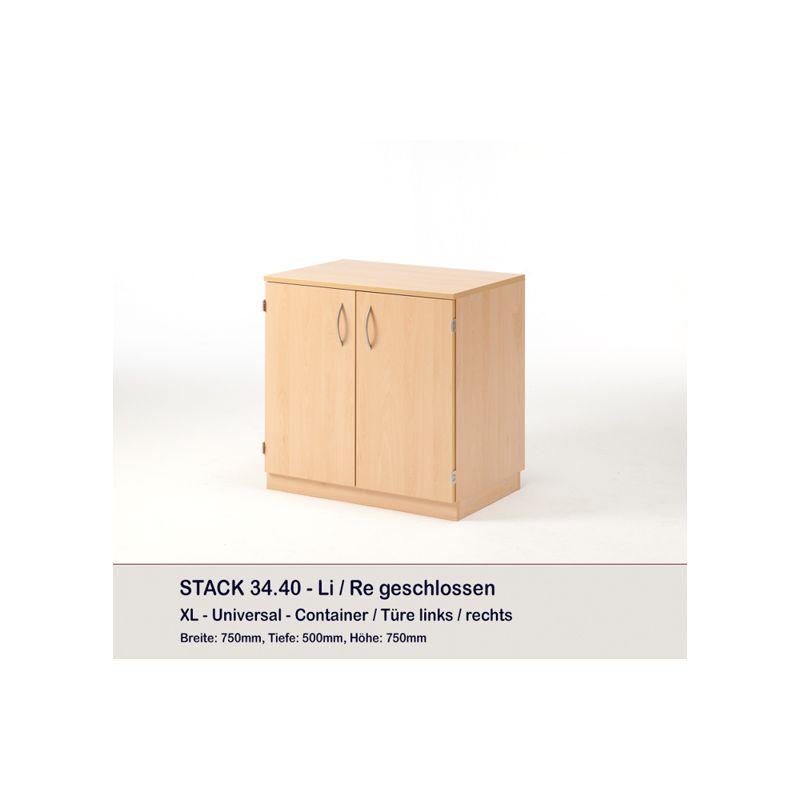 Meuble Container et 8 plateaux STACK