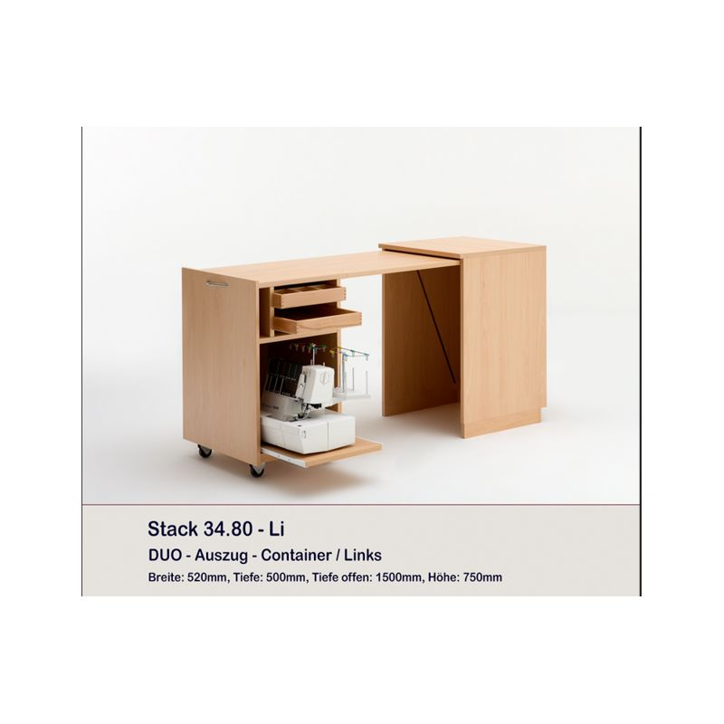 Meuble Duo container STACK