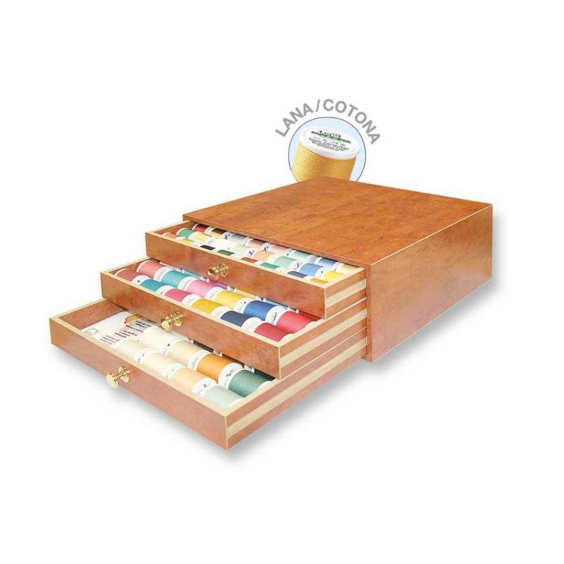 Coffret en bois LANA + COTONA  - Réf 8140