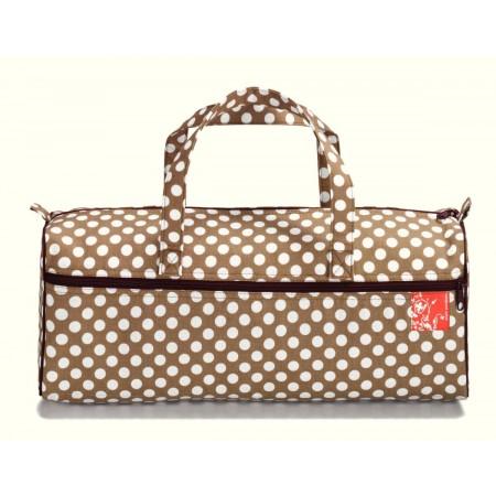 sac a ouvrage polka dots beige Réf 66/612275