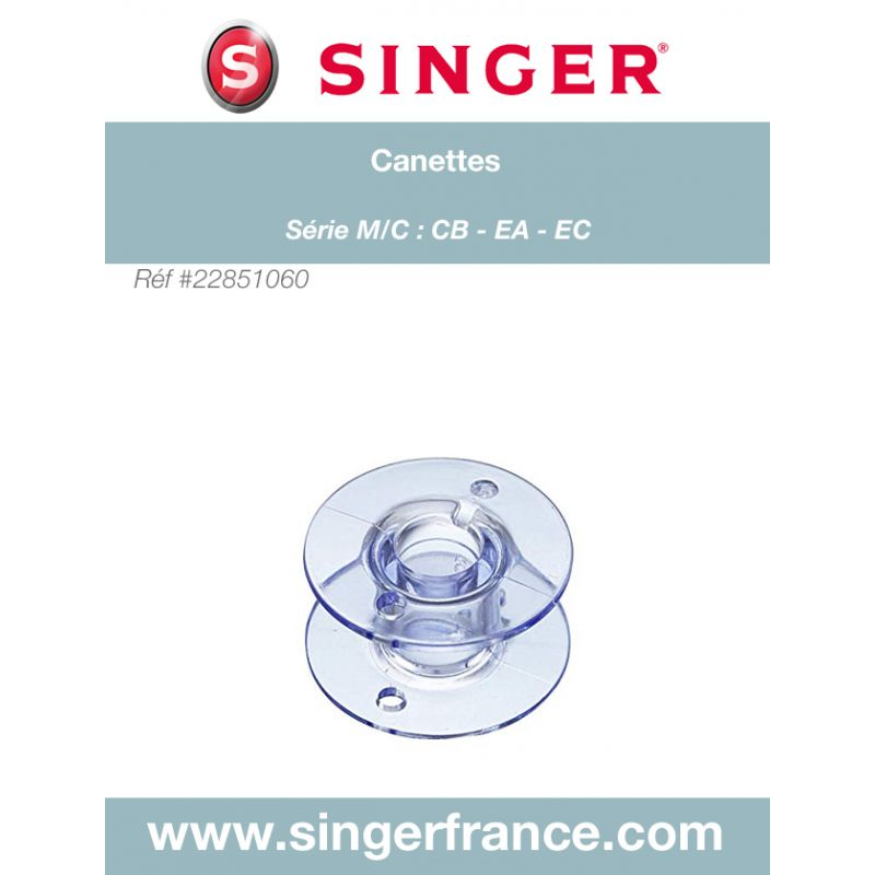 Canettes Confidence Experience 160 x 4 sous blister Singer réf 22/85/1060.B