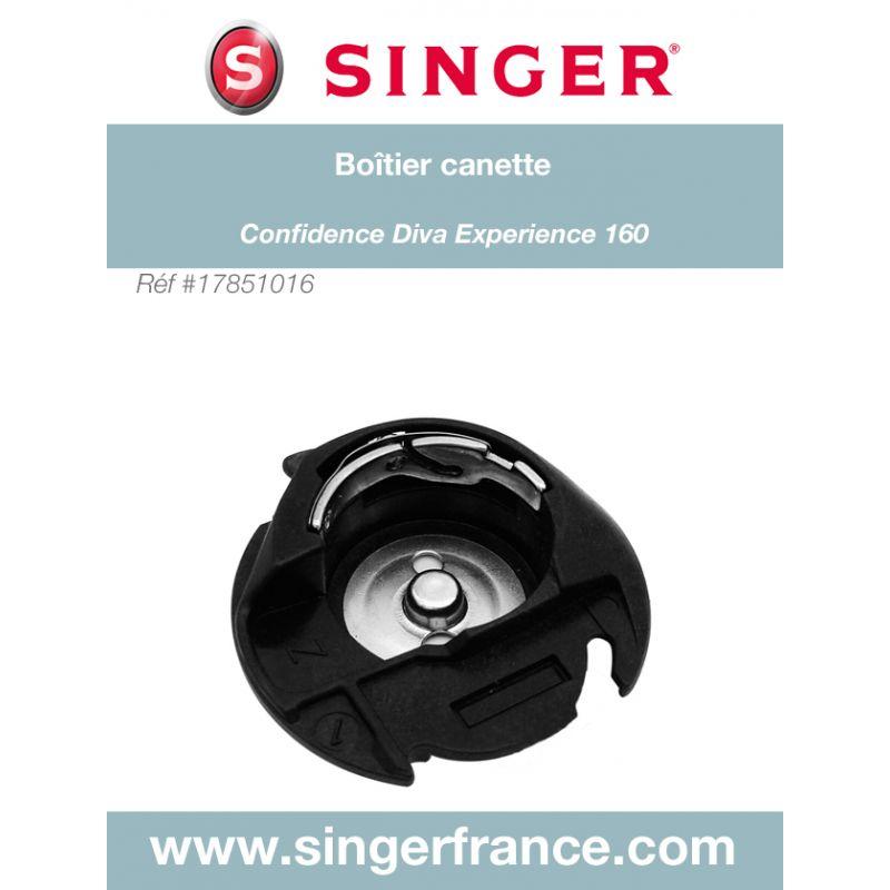 Boitier à canette Confidence Experience 160 sous blister Singer réf 17/85/1016.B