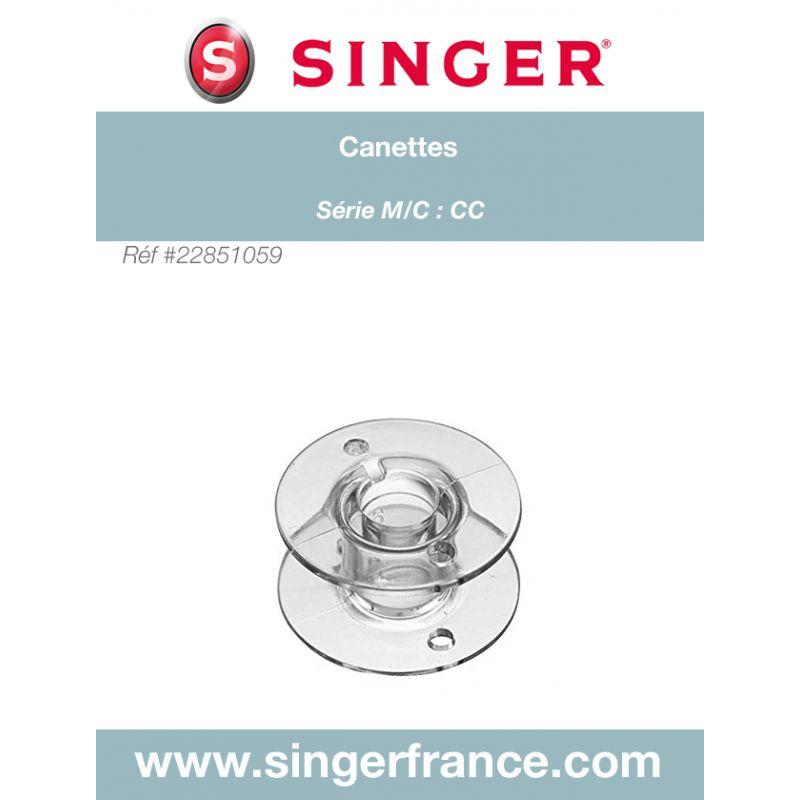 Canette SINGER FUTURA 3000 4010 4020 4040 BRILLANCE Réf 22/85/1059