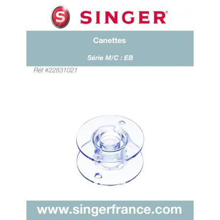 Canette SINGER FUTURA 4400 C440 sous blister