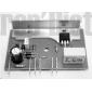 Boîtier aspirateur SINGER electronique CYCLONE 3000 Réf BOI.1013