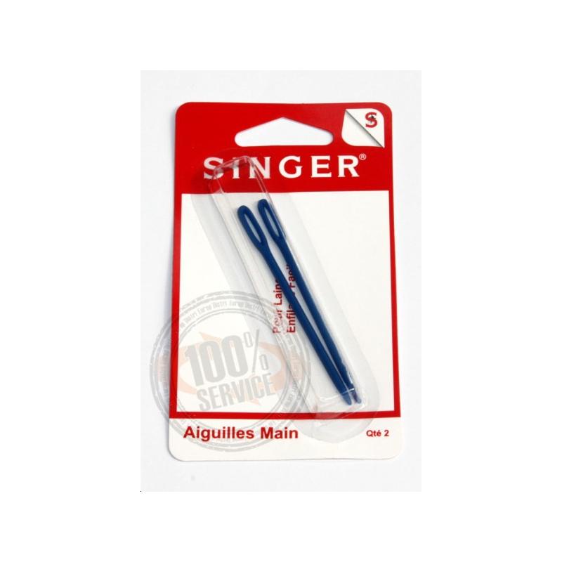 Aiguilles à laine en plastique SINGER SF211 Réf 57/95/1094