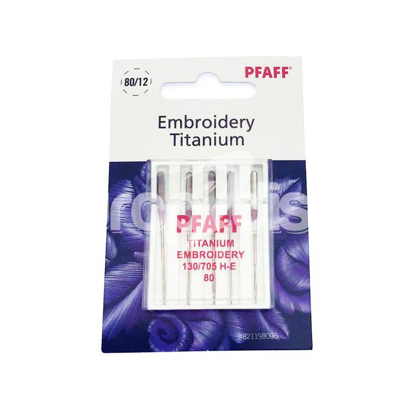 Aiguille Pfaff Broderie Titanium