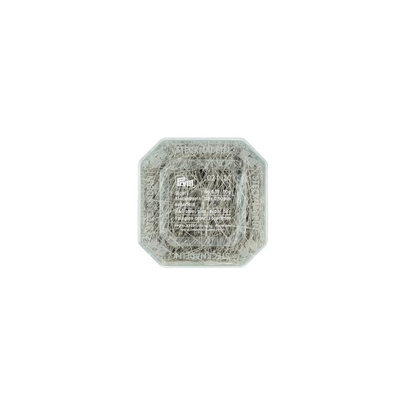Epingles  A Piquer N°6 Acier Argente  0,50X30 Mm