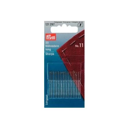 Aiguilles  A Coudre Longues N° 10   0,50X32 Mm Arg/Or Réf 121297