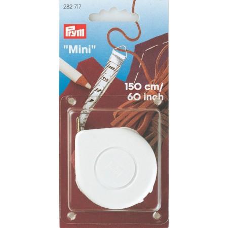 Centimetre  Ressort Mini 150 Cm   60 Inch Jaune/Blanc PRYM Réf 282717