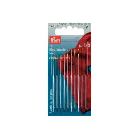 Aiguilles  A Coudre Demi-Longues N° 11  0,50X26 Mm Arg/Or Réf 121307