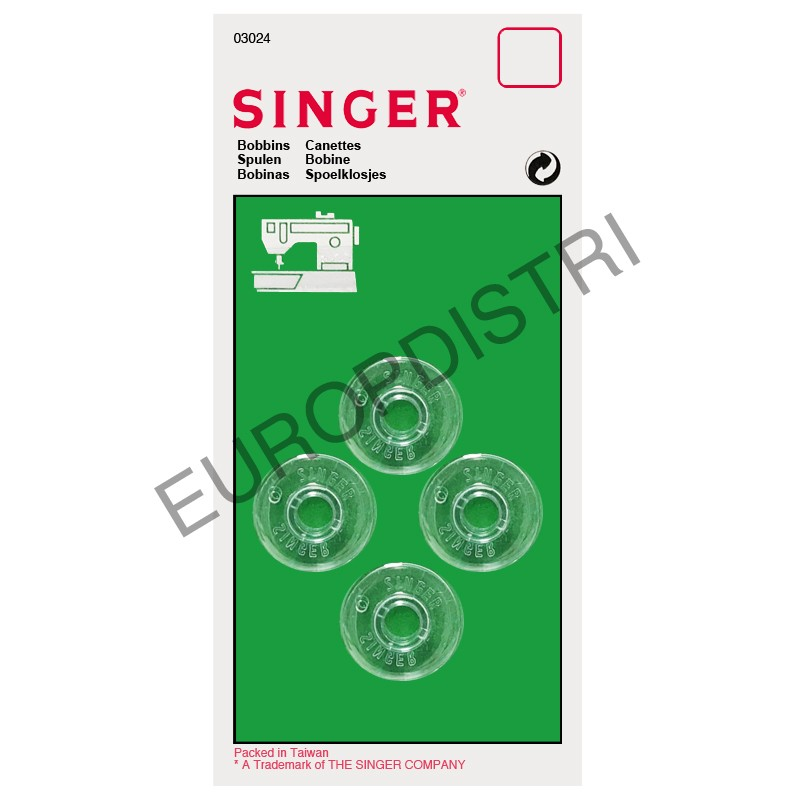 Canette SINGER 3024x4 (3024) Réf 22/85/1029