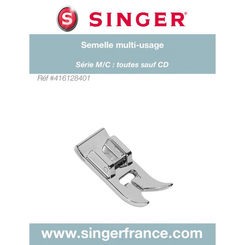 Semelle ZZ 7 mm sous blister Singer réf 44/75/1042.B