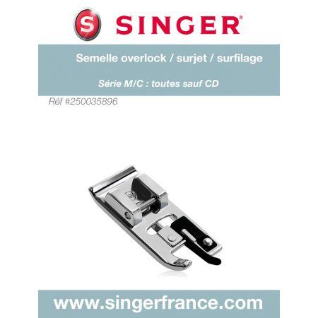 Semelle surjet clic bas sous blister Singer réf 44/75/1045.B